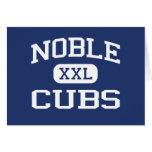 Noble noble Oklahoma de la escuela secundaria de C Tarjetón