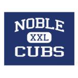 Noble noble Oklahoma de la escuela secundaria de C Tarjeta Postal
