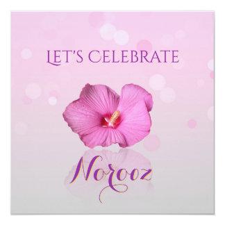 Noble Persian New Year Bloom - Invitation