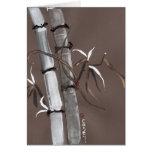 Noble Snow Spirit Like Bamboo Card