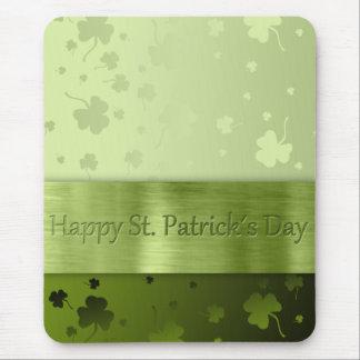 Noble St. Patrick's Day Shamrocks - Mousepad