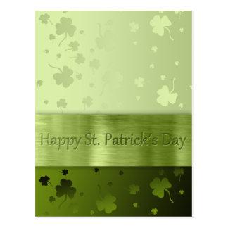 Noble St. Patrick's Day Shamrocks - Postcard