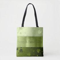 Noble St. Patrick's Day Shamrocks - Tote Bag