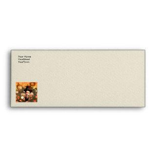 Noble steampunk envelope