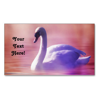 Noble Swan Magnetic Business Card