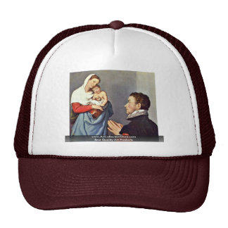 Nobleman In Adoration Before The Madonna Trucker Hats