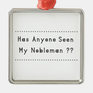 Nobleman Metal Ornament