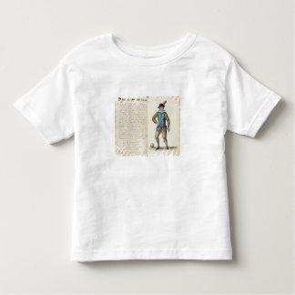 Nobleman playing football, Venetian (manuscript) Toddler T-shirt