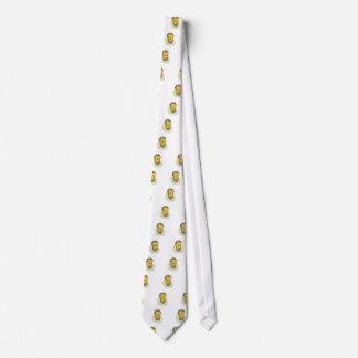 Nobleman Wearing Ruff Collar Grime Art Neck Tie