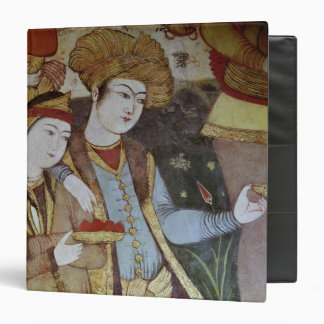 Nobles at the Court of Shah Abbas I 3 Ring Binder