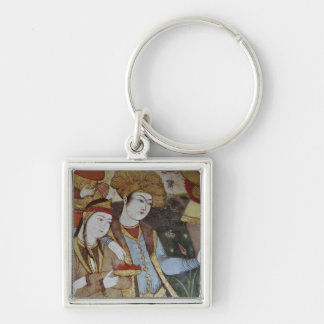Nobles at the Court of Shah Abbas I Keychain