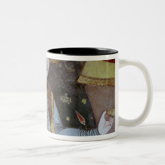 Nobles at the Court of Shah Abbas I Two-Tone Coffee Mug