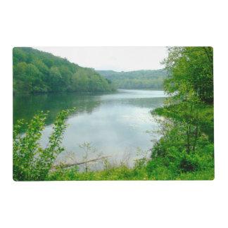 Noblet Lake Laminated Place Mat
