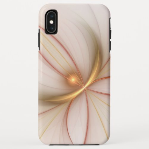 Nobly Copper And Gold Abstract Modern Fractal Art Phone Case