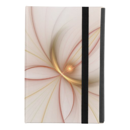 Nobly Copper And Gold Abstract Modern Fractal Art iPad Mini 4 Case