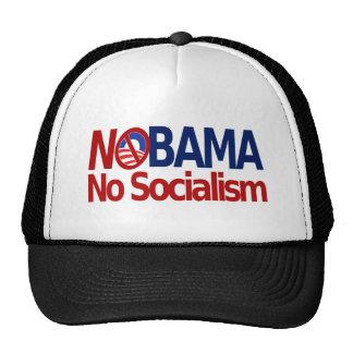 NOBMA ningún socialismo Gorros Bordados