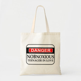 Nobnoxious Teenager Tote Bag