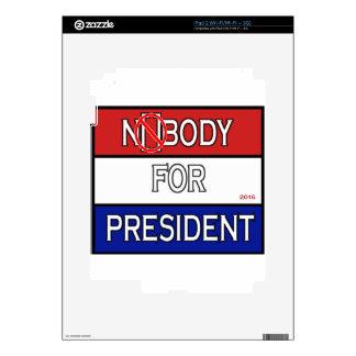 Nobody4Prez2016.png iPad 2 Decals