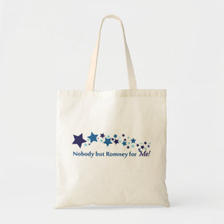 Nobody but Romney for Me! Tote Bags
