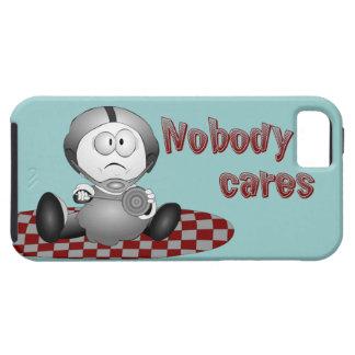 Nobody Cares iPhone 5 Tough Case iPhone 5 Case