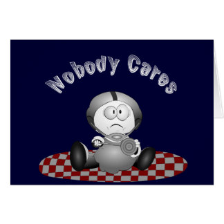 Nobody Cares Recipe Card
