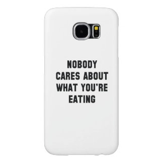 Nobody Cares Samsung Galaxy S6 Case