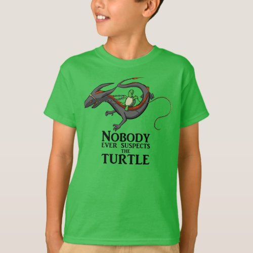 Nobody ever suspects the Turtle kids T_Shirt