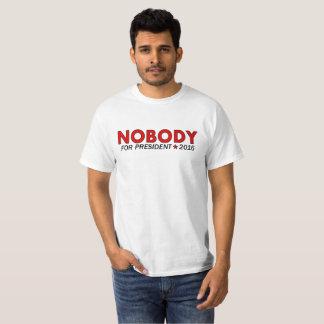 Nobody for President 2016 T-Shirt (Red)