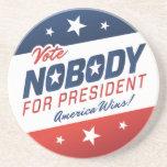 Nobody for President Coaster