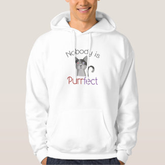 Nobody Is Purrfect Hoodie