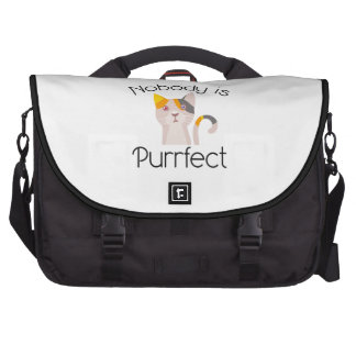 Nobody Is Purrfect Commuter Bag