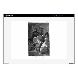 """Nobody knows anybody by Francisco Goya Skins For 15"""" Laptops"""