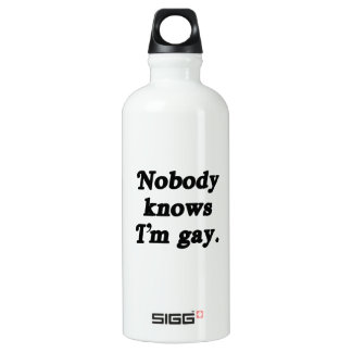 Nobody knows I'm Gay - .png SIGG Traveler 0.6L Water Bottle