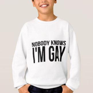 Nobody Knows I'm Gay Sweatshirt
