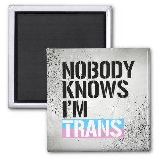 Nobody Knows I'm Trans - -  Magnet