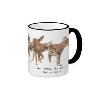 Nobody Like Family  - Wolf pup Mug