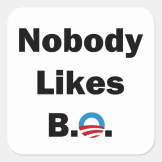 Nobody Likes BO Stickers