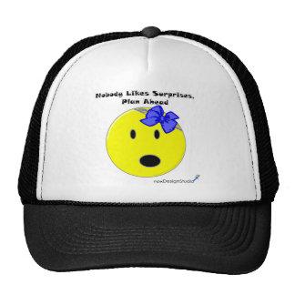 Nobody Likes Surprises Mesh Hats
