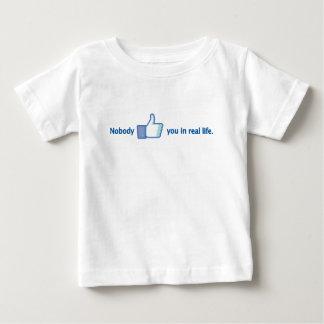 Nobody likes you baby T-Shirt