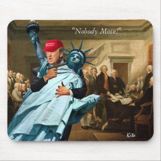 """""""Nobody Move!"""" Mouse Pad"""