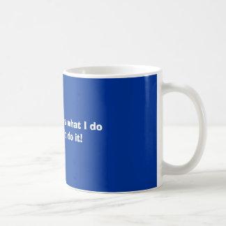 Nobody notices coffee mug