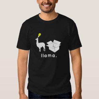 nobody puts llama in a box t-shirt