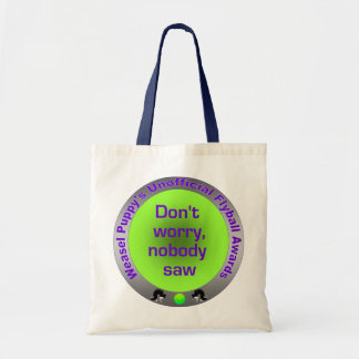 Nobody Saw Flyball Tote Bags