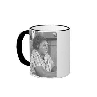 """Nobody's free until everybody's free."" Ringer Coffee Mug"