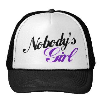 Nobody's Girl Trucker Hat