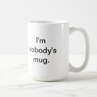 nobodys mug