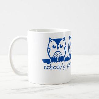Nobody's Perfect Classic White Coffee Mug