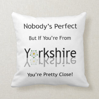 Nobody's Perfect Cushion