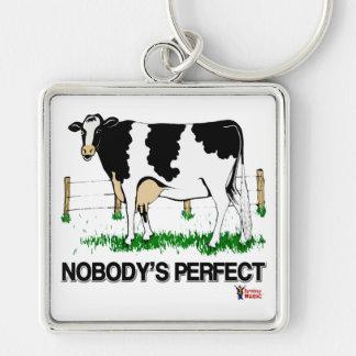 Nobody's Perfect Keychain