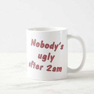 Nobody's Ugly Coffee Mug